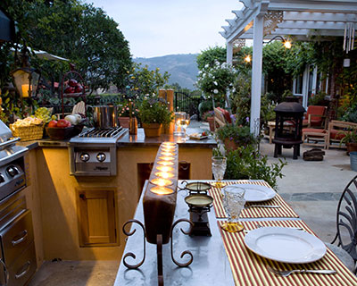 Outdoor Kitchens Visalia, CA